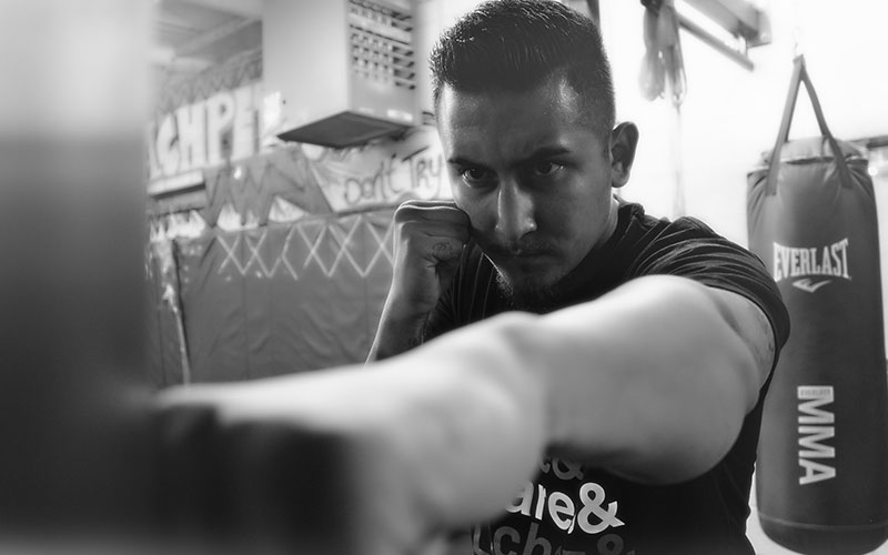 boxing and physiotherapy