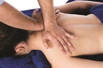 Sports massage at Brighton Physiotherapy clinic
