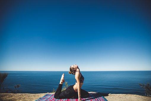 yoga exercise mats outdoor